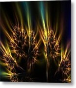 Flaming Fall Colors Metal Print