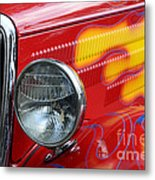 Flaming Hot Rod 2 Metal Print