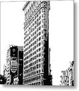 Flatiron Building Bw3 Metal Print