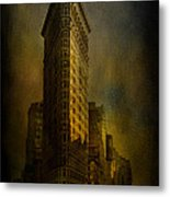 Flatiron Building...my View..revised Metal Print