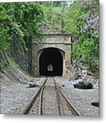 Flatrock Tunnel Metal Print