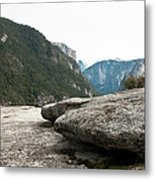 Flattop Rock Yosemite Metal Print