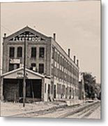 Fleetwood Autobody Factory Metal Print