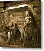 Flight Into Egypt - Wieliczka Salt Mine Metal Print