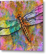 Flight Of The Dragonfly Metal Print