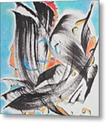 Flight Toward Blue Metal Print