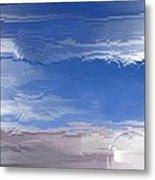 Flight Under Glass Metal Print