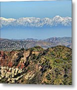 Floating In The Sky Metal Print