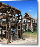 Floating Restaurants. Metal Print