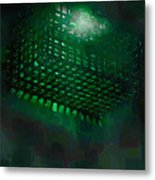 Flood Light Metal Print