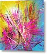 Flora Splendor Beneath The Sun Metal Print