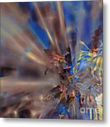 Floral ...  Abstract  Metal Print