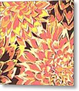 Floral Abstraction 18 Metal Print