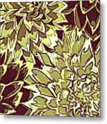 Floral Abstraction 19 Metal Print