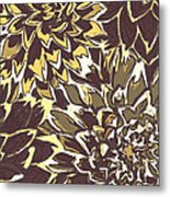 Floral Abstraction 21 Metal Print