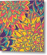 Floral Abstraction 22 Metal Print