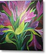 Floral Fantasy 1 Metal Print