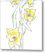 Floral Paintings 2 Metal Print