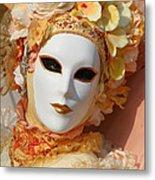 Floral Queen Portrait 2 Metal Print