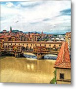 Florence Bridges II Metal Print