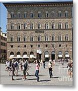 Florence Piazza Della Signoria Metal Print