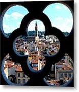 Florence Through A Unique Lens Metal Print