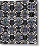 Florentine Colonnade Symmetry Metal Print