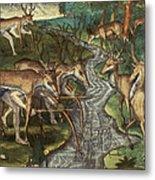 Florida: Hunters, C1591 Metal Print