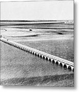 Florida: Overseas Bridge Metal Print