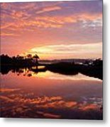 Florida Sunrise Metal Print by Charles Warren