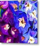Flower Arrangement 012812 Metal Print by David Lane