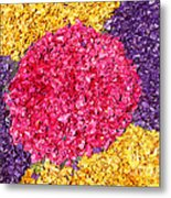 Flower Carpet Metal Print