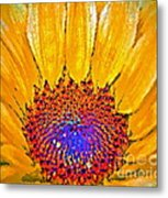 Flower Child - Flower Power Metal Print