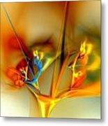Flower Composition Metal Print