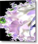 Flower Effect Metal Print