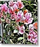 Flower Painting 0003 Metal Print