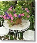 Flower Pot 4 Metal Print