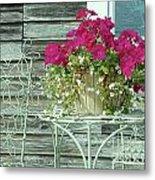 Flower Pots ...... 4 Metal Print