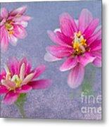 Flower Triplets Metal Print