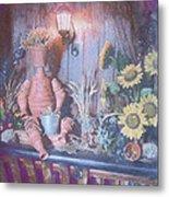 Flowerpotman Metal Print