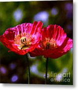 Flowers Are For Fun Metal Print