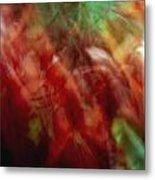 Flowers In The Wind 2 Metal Print