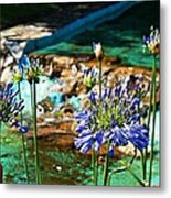Flowers Metal Print by Jenny Senra Pampin
