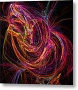 Flowing Energy Metal Print
