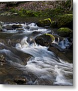 Flowing Love Metal Print by Victoria Ashley