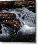 Flowing Through Fall Color Metal Print