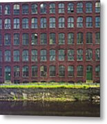 Fly Fishing Lawrence Canal Metal Print