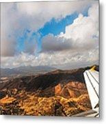 Flying Over Spanish Land IIi Metal Print