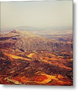 Flying Over Spanish Land Metal Print