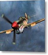 Flying Tiger P-40 Warhawk Metal Print